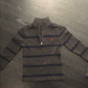 Boys size 4 Ralph Lauren polo pullover, tags on